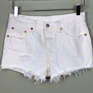 Levi's 501 Button-fly Cutoff Shorts